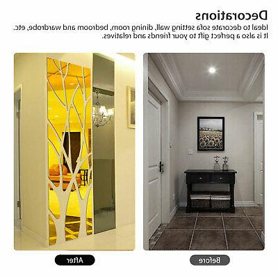 3D Removable Sticker Acrylic Mural Decal Home Room Decor
