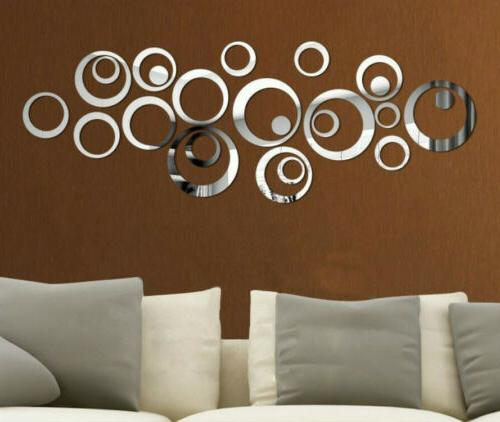 US Wall Sticker Removable Acrylic Decor
