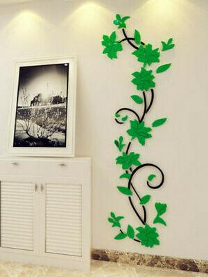 Vinyl Living Wall Removable