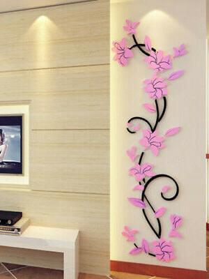 US Vinyl Home Living Room Wall Removable Mural