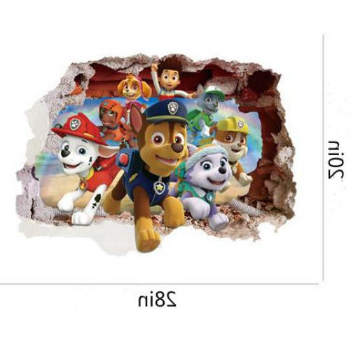US Stickers Paw Patrol Room Wallpaper