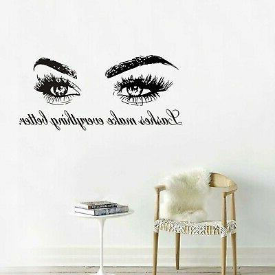 Boodecal Wall Decals Quote - Make Better De... New