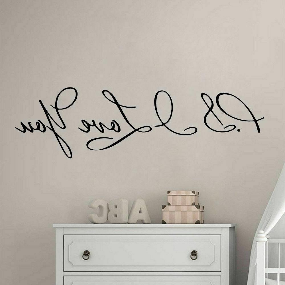 Wall Vinyl For Home Accessories
