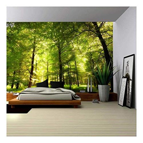 wall26 - Crowded Forest Mural - Wall Mural, Removable Sticke