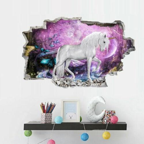 Magical horse Wall Decal For Children Room Decor