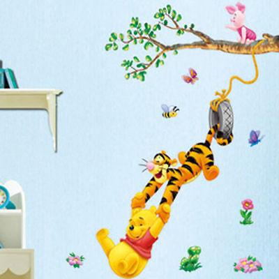 Winnie Stickers Bedroom Removable Mural