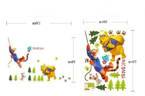Winnie The Stickers Removable Mural