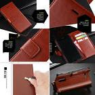 Women/Men's PU Leather Flip Wallet Card Slot Holder Stand Ca