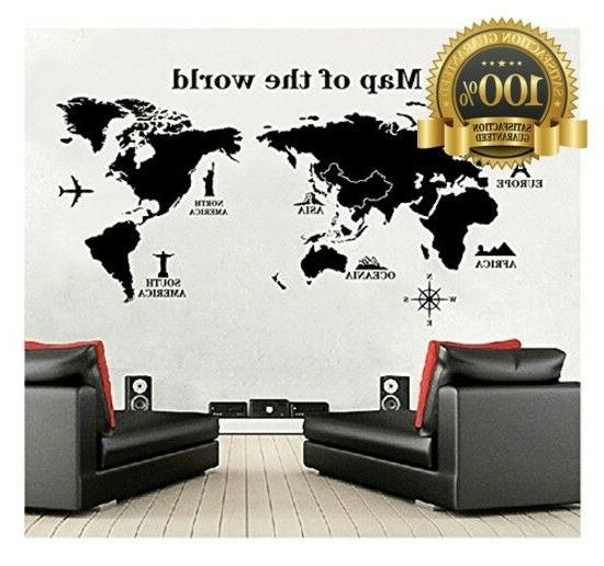 World Wall - Removable - Peel