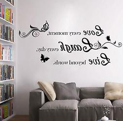 """BIBITIME """"Love Every Moment,laugh Every Day, Live Beyond Wor"""