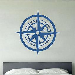 Nautical Compass - Wall Vinyl Decal Sticker Nursery Kids Roo