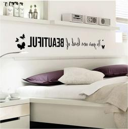New Beautiful Wall Stickers Decals Bedroom Living Room Decor