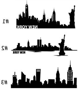 NEW YORK CITY Skyline Wall Art VINYL DECAL Sticker Decor Mur
