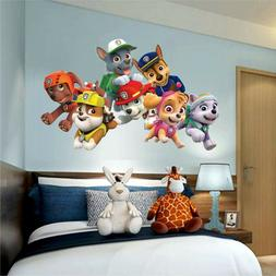 WALL STICKER PAW PATROL Style Skye Marshall chase 3D decor