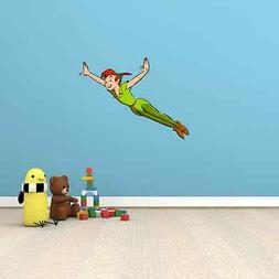 Peter Pan and Tinkerbell Cartoon Kids Room Wall Decor Sticke