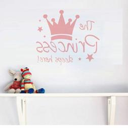 Princess Vinyl Wall Sticker Decal Kids Baby Room Decoration