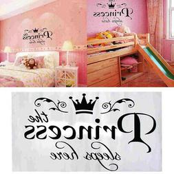 Princess Vinyl Wall Sticker Decal Kids Home Decor Baby Room