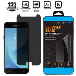 Privacy Tempered Glass Screen Protector for Samsung Galaxy J