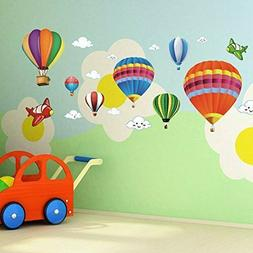 Amaonm Removable Creative 3D Hot Air Balloon Aircraft And Sm