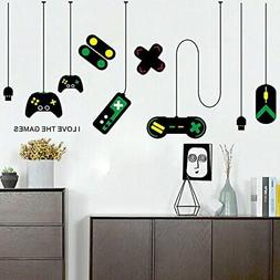 Amaonm Removable Creative Game Controllers Vinyl Wall Decal