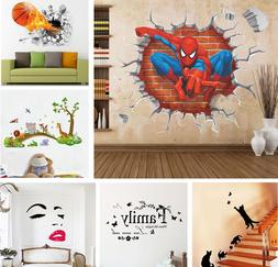 Removable Wall Stickers Mural For Kids Baby Room Bedroom Hom