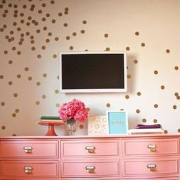 Set of 60 Polka Dot Wall Stickers Decal Childs Kids Vinyl Ar