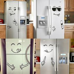 Smiley Face Refrigerator Sticker Vinyl Wall Stickers for Fri