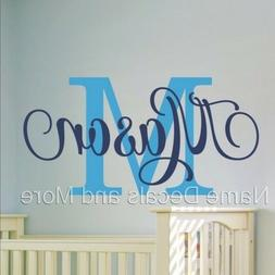 Sticker Girl Nursery Bedroom Decor Boys Personalized Name Vi