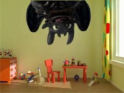 Toothless, How to train your dragon Window View Color 3D Wal