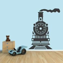 Train Wall Decal - Kids, Nursery, Playroom, Travel, Transpor