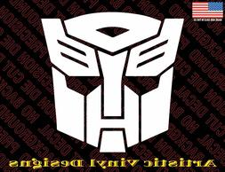 Transformers Autobot decal sticker for wall, car, laptop, et