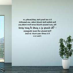 wall decal beauty of a gentle