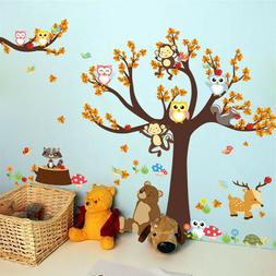 Wall Stickers Kids Baby Nursery Rooms Bedroom DIY Wall Decal