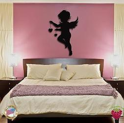 Wall Stickers Vinyl Decal Angel Baby Kids Romantic Decor For