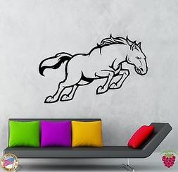 Wall Stickers Vinyl Decal Animal Horse Mustang Decor For Liv