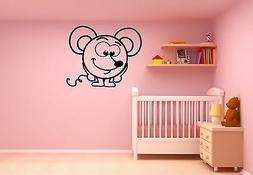 Wall Stickers Vinyl Decal for Kids Nursery Baby Animal Mouse