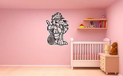 Wall Stickers Vinyl Decal Nursery for Kids Baby Lion Sport T
