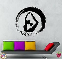 Wall Stickers Vinyl Decal Yoga Fitness Zen Sport Decor For G