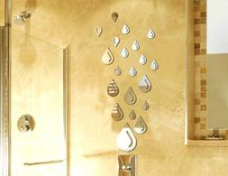 Bestgrew® Water Drop Raindrop Modern Stylish Fashion Art De
