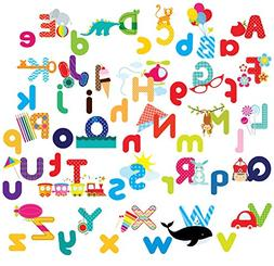 Whimsical Alphabet Decorative Peel & Stick Wall Art Sticker